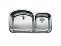 Blanco Blancowave Double Bowl Undermount Sink 510-882