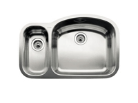Blanco Blancowave Double Bowl Undermount Sink 510-880-R
