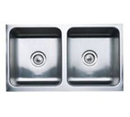 "Blanco Magnum Undermount 32"" Equal Double Bowl Sink With Apron"