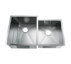 C-Tech-I Linea Amano Citerna LI-2300 Double Bowl Stainless Steel Sink
