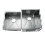 C-Tech-I Linea Amano Citerna LI-2300-D Double Bowl Stainless Steel Sink