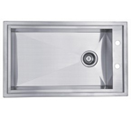 Dawn DSQ2917 Undermount Square Single Bowl Stainless Steel Sink