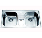 Dawn CH365 Topmount Equal Double Bowl Stainless Steel Sink