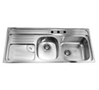 Dawn CH366 Topmount Double Bowl Stainless Steel Sink