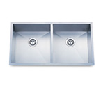 Pelican PL-HA120 Double Bowl Handmade Stainless Steel Sink