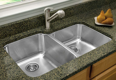 Blanco Stellar Undermount 1 3 4 Double Bowl Sink