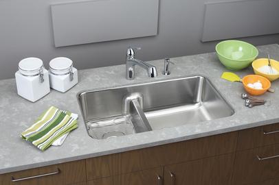 Double Bowl Sinks. Elkay Gourmet ELUHAQD32179 Undermount Double Bowl  Stainless Steel Sink