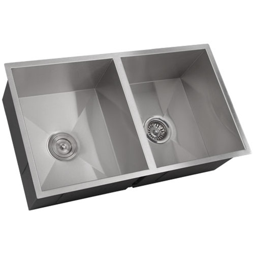 fs6501 10 undermount kitchen sink brushed nickel faucet