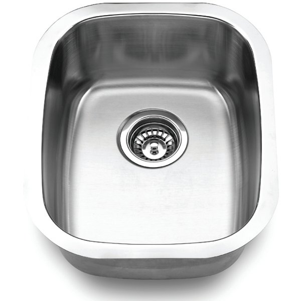 Fontaine Stainless Steel Undermount Bar And Food Prep Sink