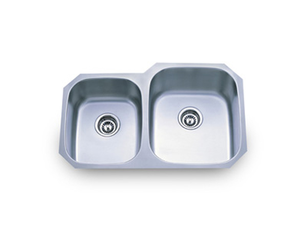 18 Gauge Double Bowl Stainless Steel Sink Stainless Sinks Stainless ...