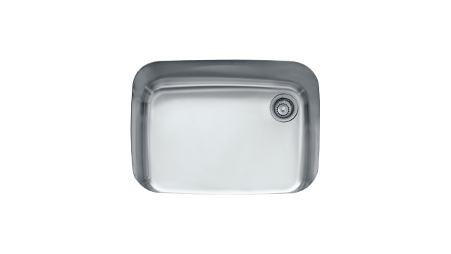 Franke Single Bowl Stainless Steel Sink : Franke EuroPro GNX11028 Undermount Single Bowl Stainless Steel Sink ...