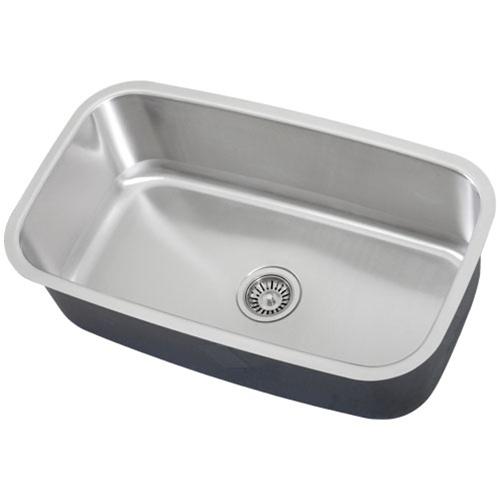 Ticor s112 undermount stainless steel single bowl kitchen - Stainless steel kitchen sink accessories ...