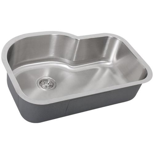 Sink Accessories : ... Undermount 16-Gauge Stainless Single Bowl Kitchen Sink + Accessories