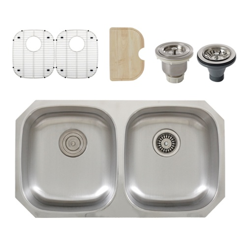 stainless steel kitchen sink accessories ticor s205 undermount 16 stainless steel kitchen 8261