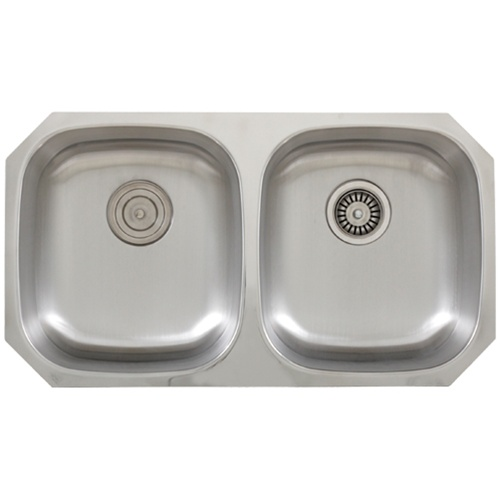 Stainless Steel Sink 16 Gauge : ... S205 Undermount 16-Gauge Stainless Steel Kitchen Sink + Accessories