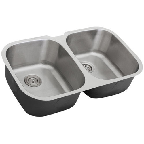16 Gauge Stainless Steel Sink : Ticor S205D Undermount 16-Gauge Stainless Steel Kitchen Sink