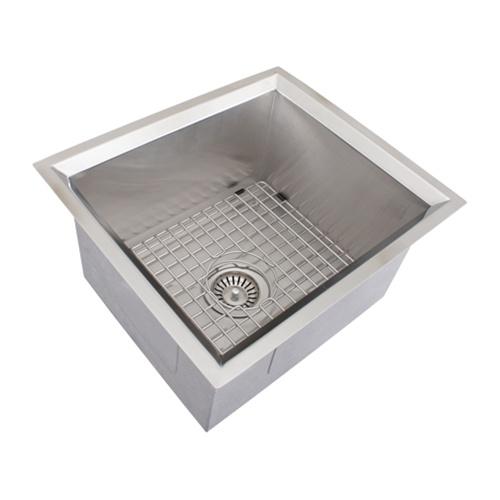 Ticor s208 undermount 16 gauge stainless steel kitchen - Stainless steel kitchen sink accessories ...
