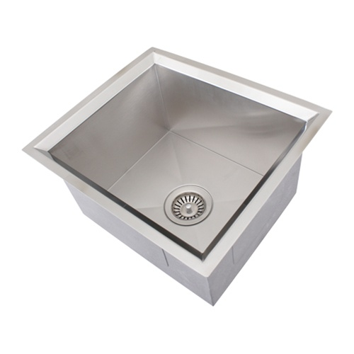 16 Gauge Stainless Steel Sink : Ticor S208 Undermount 16-Gauge Stainless Steel Kitchen Sink