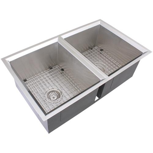 Ticor s308 undermount 16 gauge stainless steel kitchen - Kitchen sink pieces ...