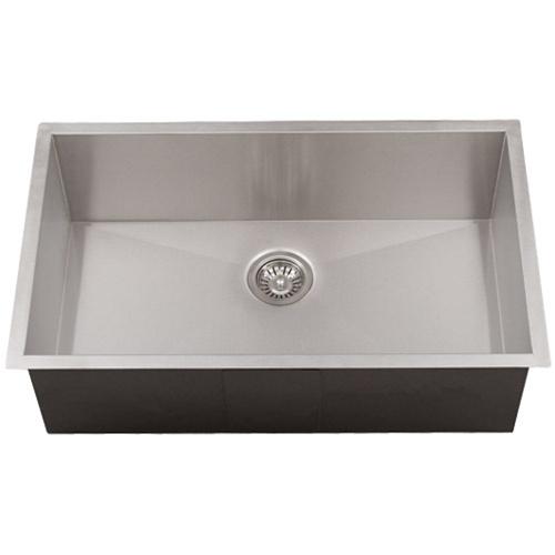 Ticor Sinks : Ticor S3510 Undermount 16-Gauge Stainless Steel Kitchen Sink ...