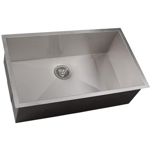 Ticor s3510 undermount 16 gauge stainless steel kitchen - Stainless steel kitchen sink accessories ...