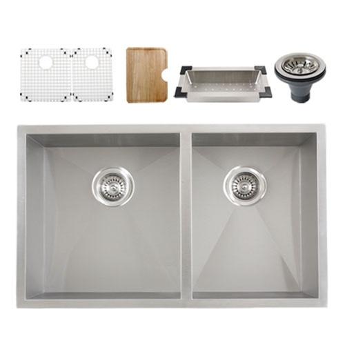 Ticor S3540 Undermount 16-Gauge Stainless Steel Kitchen