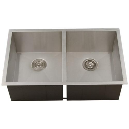 Ticor s3550 undermount 16 gauge stainless steel kitchen - Stainless steel kitchen sink accessories ...