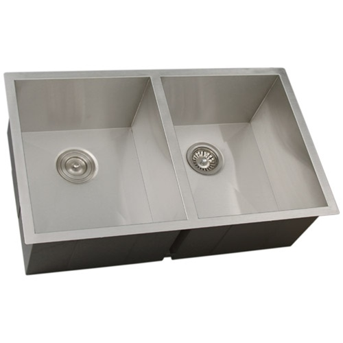 Ticor S3550 Undermount 16-Gauge Stainless Steel Kitchen Sink