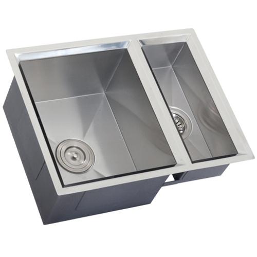 16 Ga Stainless Steel Sinks : Ticor S408 Undermount 16 Gauge Stainless Steel Kitchen Sink