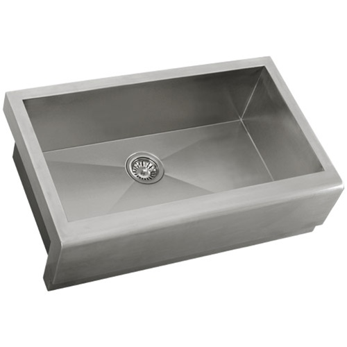 "Ticor S4407 33"" Apron Farmhouse 16 Gauge Stainless Steel Kitchen Sink"