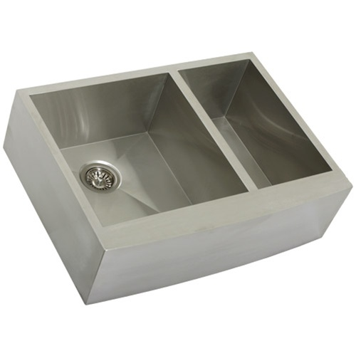 Ticor S4409 Apron Curved Front Stainless Kitchen Sink