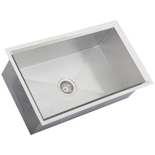 16 Gauge Stainless Steel Sink : Ticor S508 Undermount 16 Gauge Stainless Steel Kitchen Sink