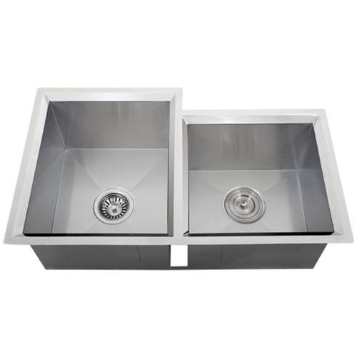 Ticor S608 Undermount 16-Gauge Stainless Steel Kitchen Sink