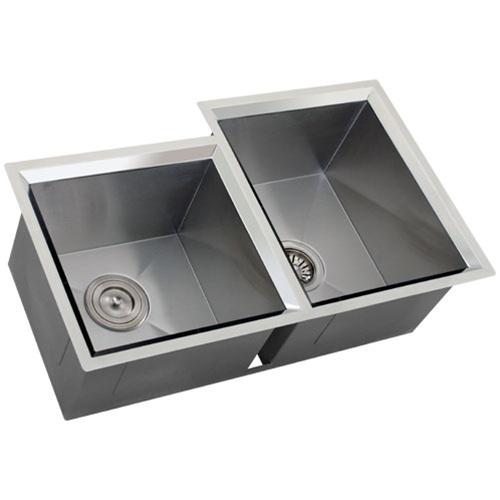 Ticor s608r undermount 16 gauge stainless steel kitchen - Stainless steel kitchen sink accessories ...