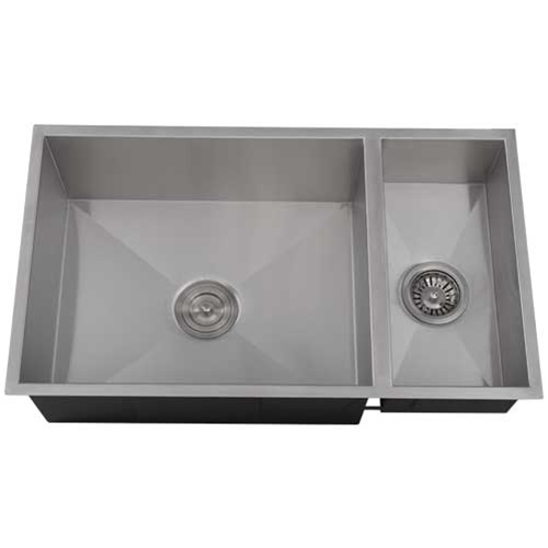 Ticor s6502 undermount stainless square kitchen sink - Kitchen sink pieces ...