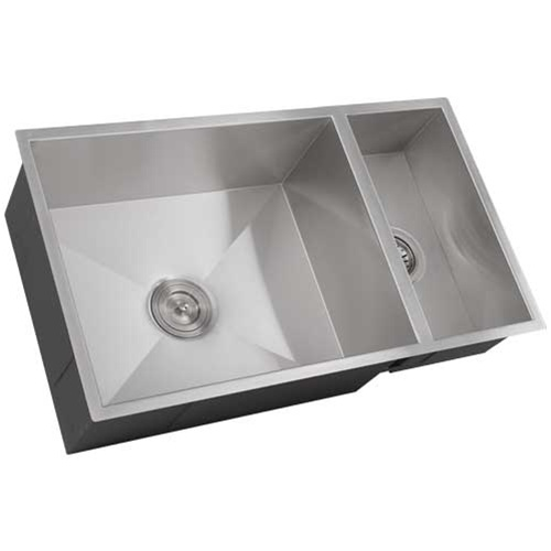 square sink kitchen ticor s6502 undermount stainless square kitchen sink 2449