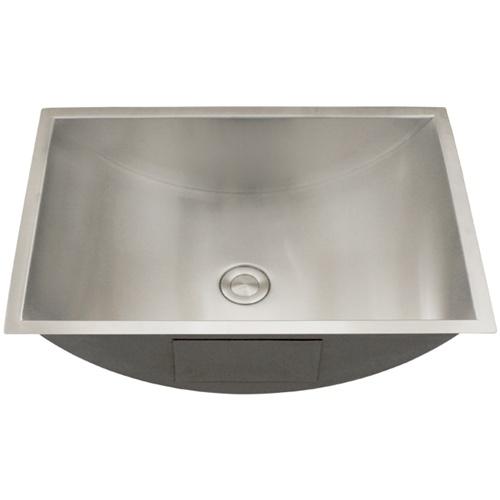 Ticor S730 Undermount Stainless Steel Bathroom Sink