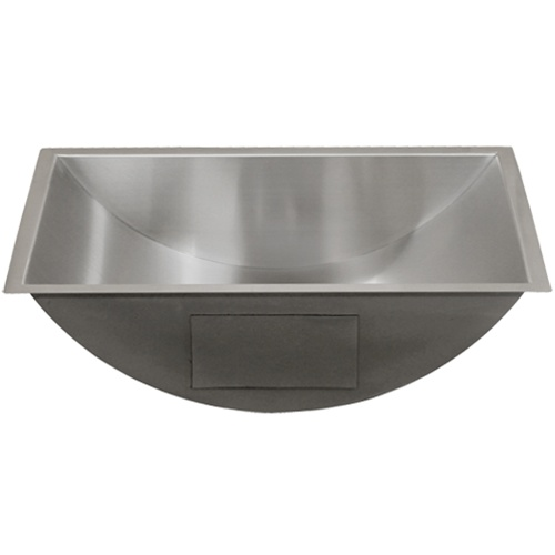 bathroom sink stainless steel ticor s730 undermount stainless steel bathroom sink 16570