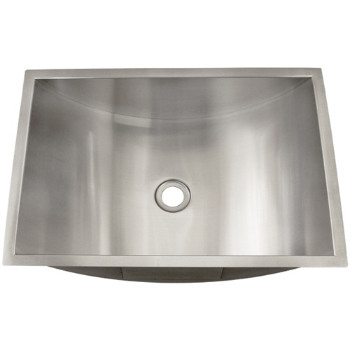 Ticor S730 Undermount Stainless Steel Bathroom Sink