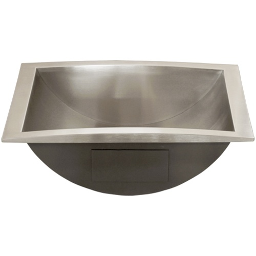 bathroom sink stainless steel ticor s740 overmount stainless steel bathroom sink 16570