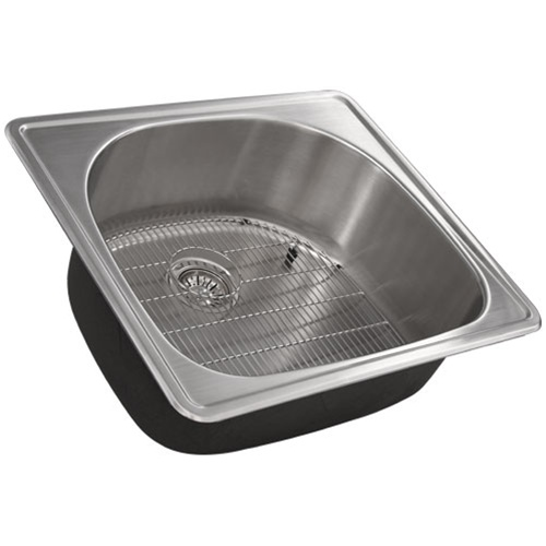 Overmount Stainless Steel Sink : View detailed images (12)