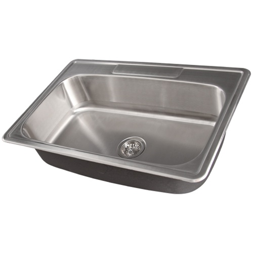 stainless steel kitchen sink accessories ticor s994 overmount stainless steel single bowl kitchen 8261
