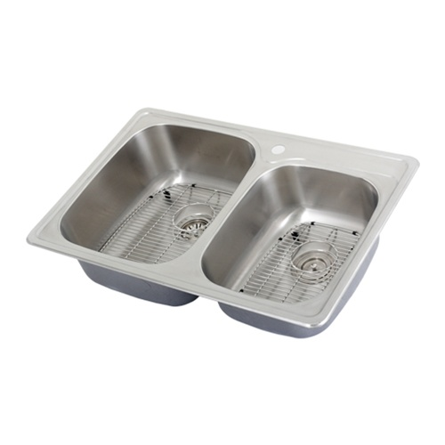 Stainless sinks stainless steel sinks - Overmount sink kitchen ...