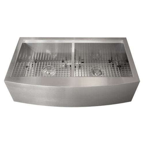 ticor tr9030 16 stainless steel apron kitchen sink