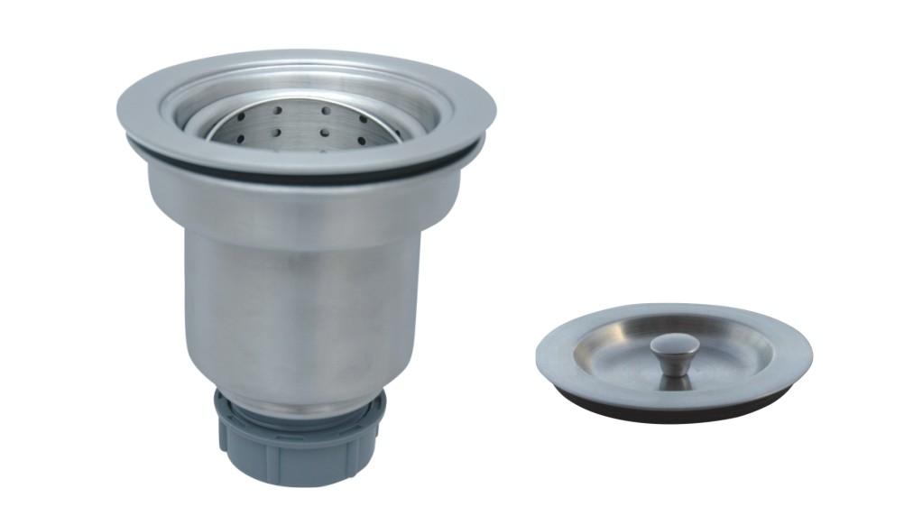Sinkware  Stainless Steel Kitchen Sink Strainer