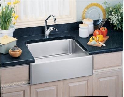 Elkay 25x20 Undermount Single Bowl Sink Apron ELUHF2520. View Detailed  Images (3)
