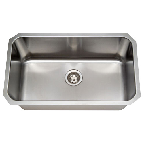Undermount Stainless Steel Sink Single Bowl : 31
