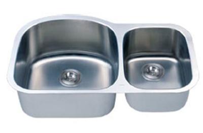 C-Tech-I Linea Imperiale Massilia LI-100-M Double Bowl Stainless Steel Sink