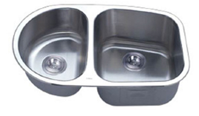 C-Tech-I Linea Imperiale Capraia LI-200-SD Double Bowl Stainless Steel Sink