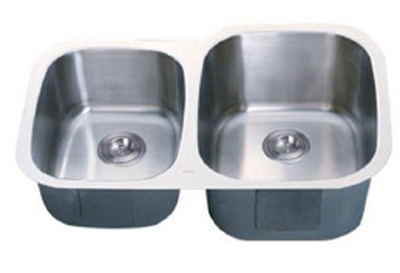 C-Tech-I Linea Imperiale Garda LI-300-SD Double Bowl Stainless Steel Sink